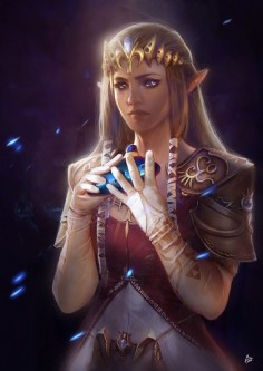 Zelda fanart, Raquel Cornejo on ArtStation at