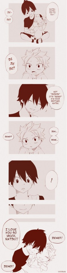 Zeref & Natsu