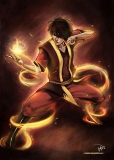 Zuko from Avatar the Last Air Bender.