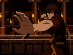 Zuko greatest fire bending move