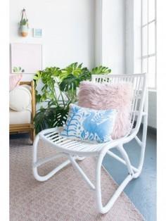 Alegria Home Baline Otomi Pillow, Sky Blue