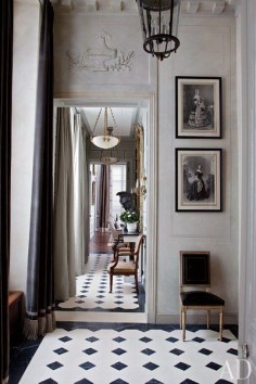 An American Couple's Paris Home Celebrates French Style : Architectural Digest