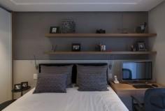 Apartamento com ambientes integrados em Perdizes (Foto: Romulo Fialdini / divulgação)