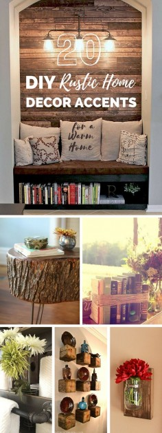Awesome #DIY #Rustic #HomeDecor #Crafts Projects!