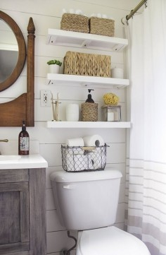 Creative Ways to Store More in a Small Bath