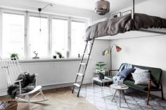 Drömhemmet: Bohemisk och yteffektiv funkispärla | ELLE Decoration