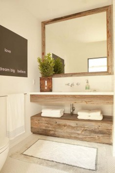 En madera de ebano o palo de sangre se debe ver genial. In ebony wood or bloodwood should be see great. Modern-rustic farm house renovation in Corona del Mar