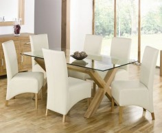 glass dining table - Google Search