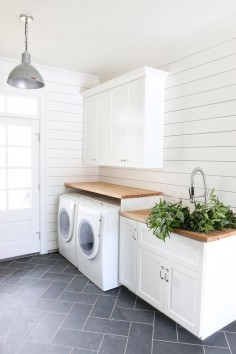 ♥ | Guest blogger for Barn Light Electric tells how to decorate with white by introducing textiles, shades of white