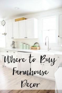 Home // Where to Buy Farmhouse Decor - Lauren McBride