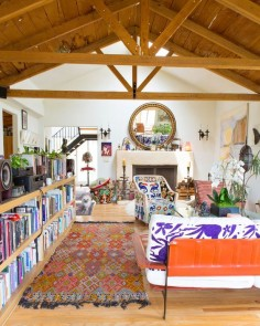 House Tour: A Colorful Topanga Canyon Home | Apartment Therapy