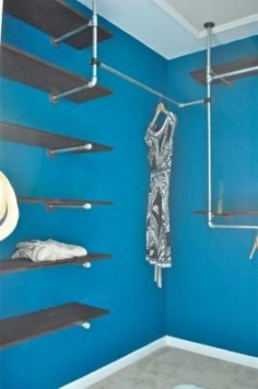 "How To Build An Industrial Chic Closet Organizer (Part 1) – Aka. ""My Closet Is Cooler Than Me"" 