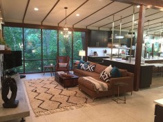 I really enjoy the show Fixer Upper, but the midcentury modern reno they did was of course my favorite. It would be a blast to stay there! Too bad it would mean a trip to Texas because I don't plan on traveling there any time soon.