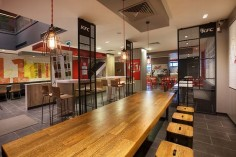 KFC restaurant concept by CBTE MIMARLIK, Turkey fast food