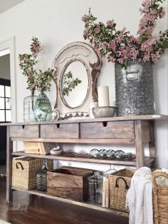 kindred vintage ikea norden sideboard makeover