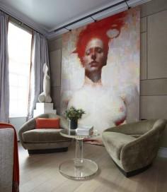 Large portrait art