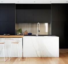 Materials In Kitchen:不同材質各有風格的 9 款廚房牆面素材提案, 2
