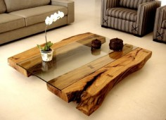 "Mesa de centro ""Monte Alegre"" - Woo Design"