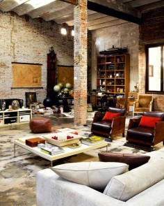 Modern loft living in Barcelona