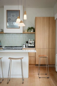 Modern Mid Century Kitchen - Reno Rumble Kitchen Reveals #LGLimitlessDesign & #Contest