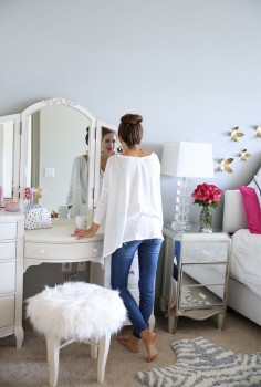 Southern Curls & Pearls: Bedroom