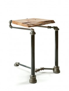 Steampunk design laptop table