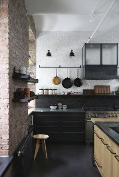 Union-Studio-New-York-Loft-kitchen-storage | Remodelista