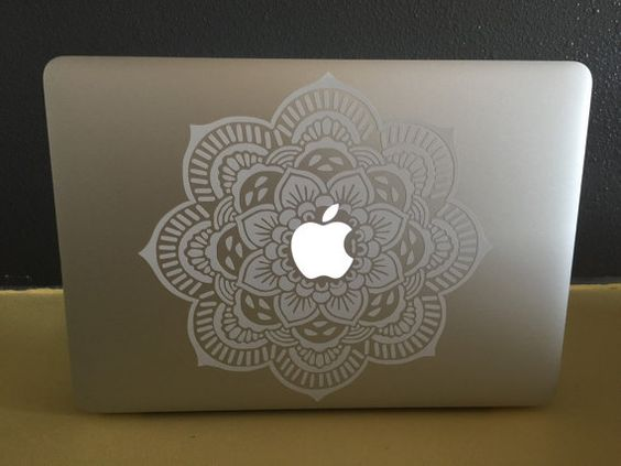 Decorative Mandala for Apple MacBook Pro. PURCHASED :). Now hurry up