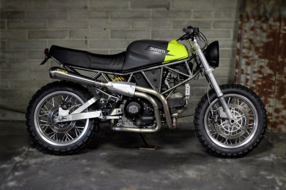 Ducati 900 SuperSport Scrambler ~ Return of the Cafe Racers