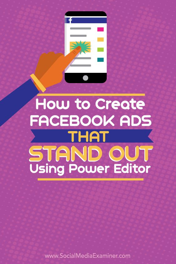 how to go to power editor in facebook