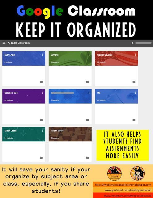 If you're going to use Google Classroom, one important tip:  keep it organized!  I make a separate class for each subject area for my third graders. It's easier for them to find assignments and for me to keep my sanity.  Come find out more tips in my 2 part series on a 1:1 classroom.