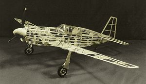 P 51 Mustang Military Balsa Wood Airplane Models P51