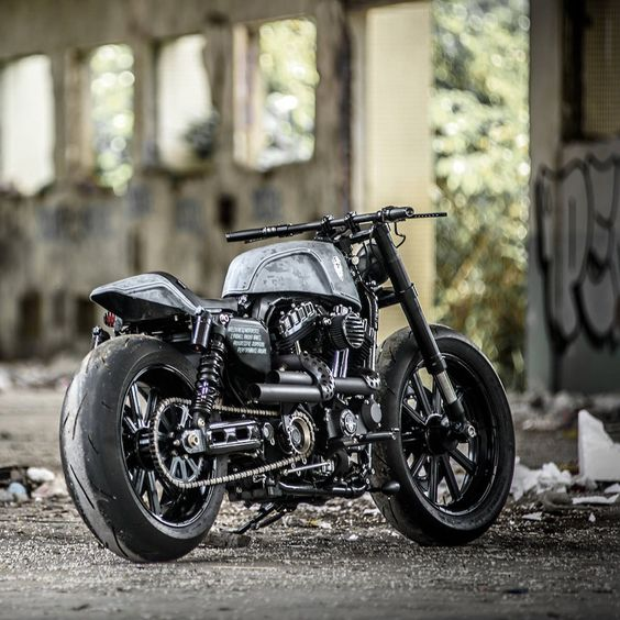 Rough Crafts Hooligan Tactics  Harley-Davidson Forty-Eight