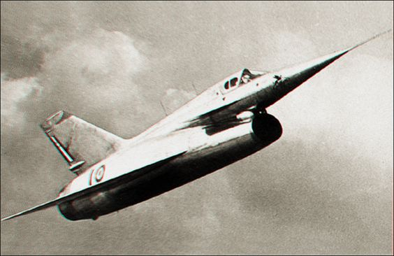 STUDIO SPECTRE : Nord 1500 Griffon, French experimental ramjet fighter. 1955.