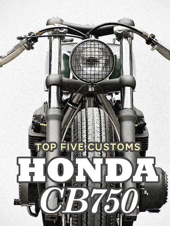 The original Honda CB750 Four is one of the most sought-after bikes to customize. And it's not hard to see why: classic 1970s style, peerless performance for its era, and that legendary Honda engineering. Click through to see our five best CB750 customs—including the Wrenchmonkees'