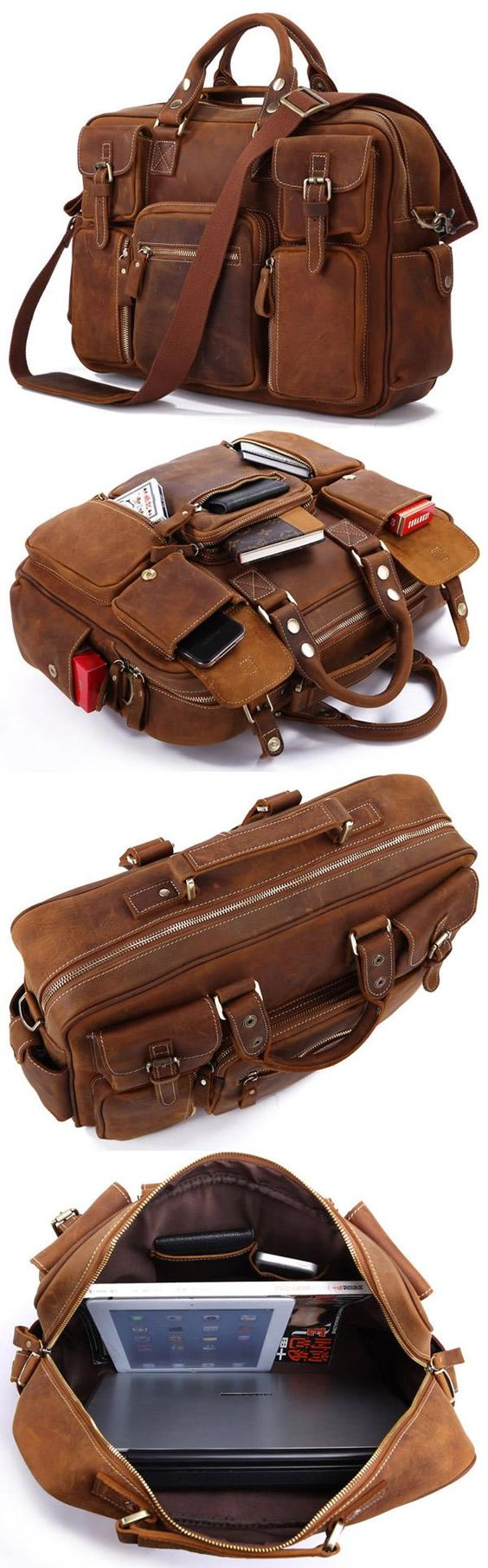 This one useful leather bag