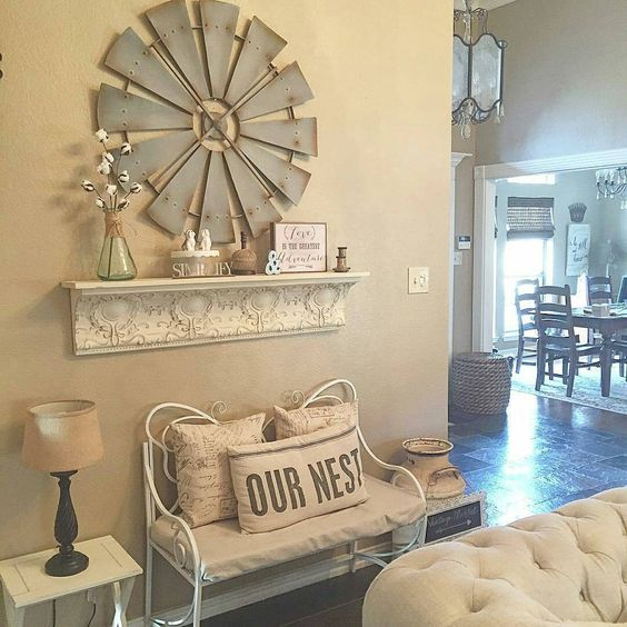 Cindy's Decorating Style Is Just Lovely, And Our Antique