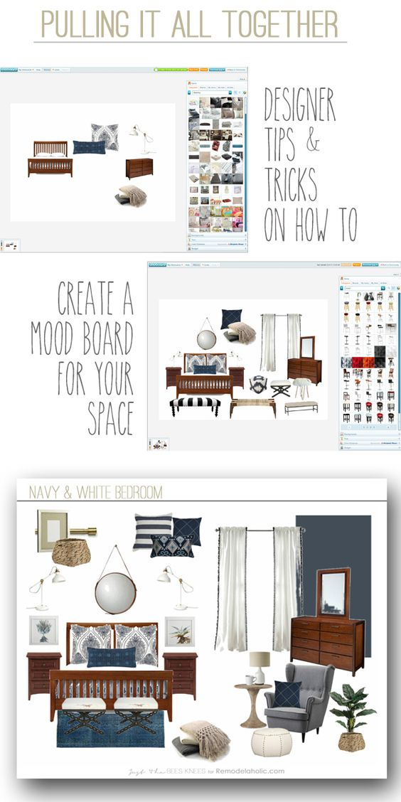 How To Create A Mood Board This One Easy Step Will Make Your Next Room Makeover Easier And
