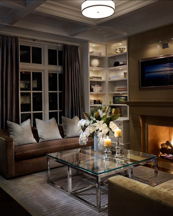 Living Room Design. This is a very elegant, classy living room design. #Livingroom #LivingRoomdesign