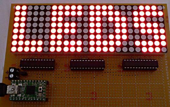 wireless led dot matrix notice board essay