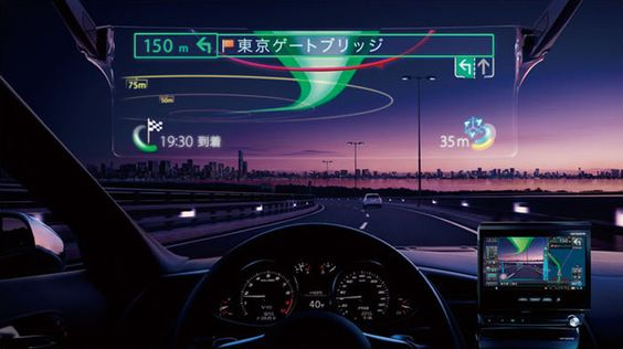 Pioneer's laser-projected car HUD lets you drive like RoboCop