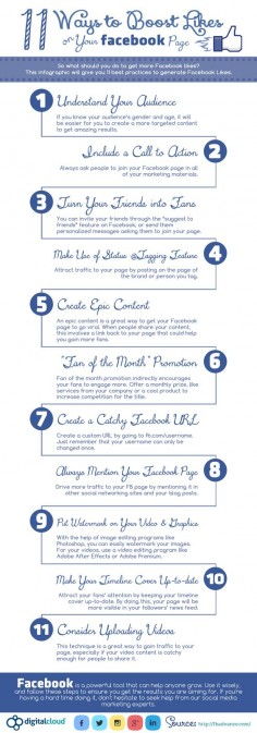 11 Ways to Get More Likes on Your Facebook Page