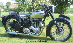 1949 Ariel 350 Twin port single cylinder