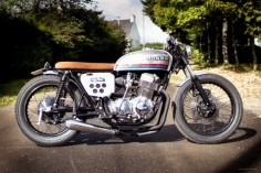 1976 Honda CB750 four custom