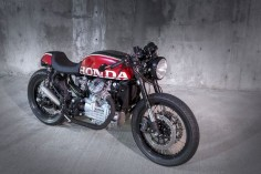 1980 Honda CX500 Custom by Mike Meyers - Utah 2