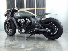 2015 Indian Scout Cafe Racer Custom