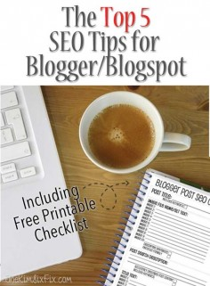 5 Easy SEO Tips Everyone on Blogger Should Be Using.  How to optimize your content on blogspot to make it more search engine friendly without the need for yoast or other plug ins