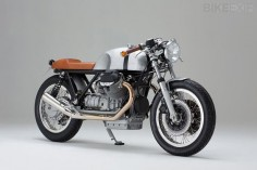 A new build from Kaffeemaschine is always worth looking out for. This is #8, a cafe racer based on a Le Mans Mk II. Dig?