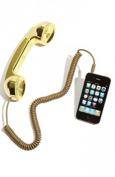 A phone handset for your iPhone or iPad!
