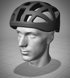 After 3 years of R&D at #RMITuniversity I am very proud to introduce the first ever #CustomFit #bicycle #helmet design. Because everyone head shape is unique the newly developed piece of software generates a #customized helmet model that is specifically designed around the contour of the head. The result is a helmet that provide optimal fit for improved comfort and safety. More info to come soon. #3dscan #3dscanning #3dprinting by thierry_ellena